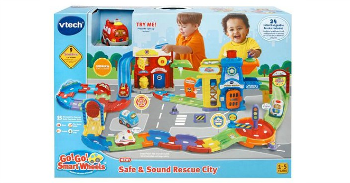 VTech Go! Go! Smart Wheel Safe & Sound Rescue City Just $26.49! Down From $65!