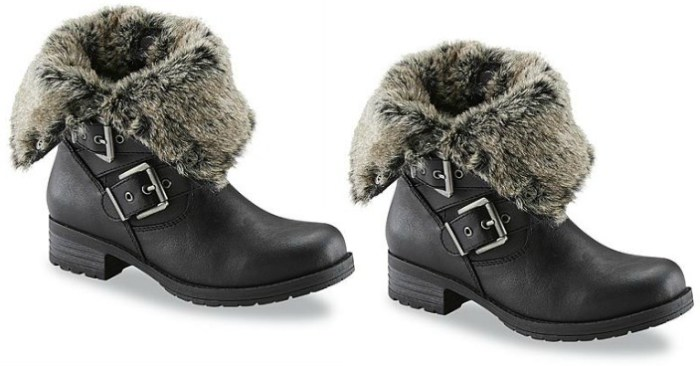 Women's Phoenix Black Moto Boot Just $18.75! Down From $65!