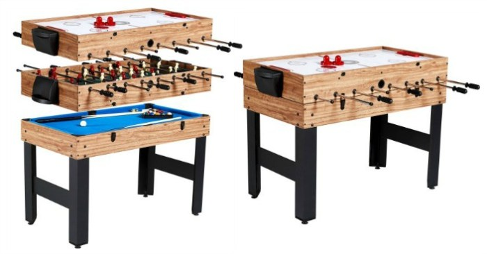 3-In-1 Multi-Game Combo Table Just $79! Down From $149!