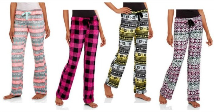 Body Candy Juniors' Sleep Pants Just $4! Down From $9!