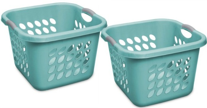 Case of 4 Sterilite Square Laundry Baskets Just $4.64!
