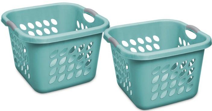 Case of 4 Sterilite Square Laundry Baskets Just $4.64!