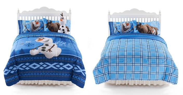 Disney Olaf Ice Friends Comforter Only $19.59! Down From $70!