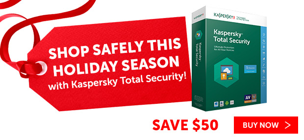 We live in a very digital world now more than ever before, of course but, with that comes concerns over being secure.  We want to make sure we protect our online shopping, connected devices and curious kids.  With Kaspersky Lab—the world's most awarded internet security we can do just that!