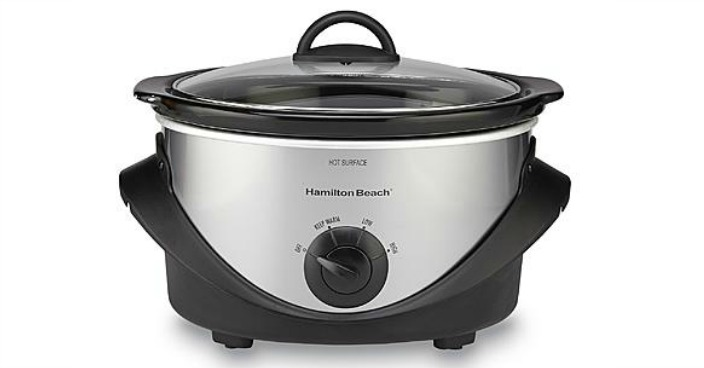 FREE Hamilton Beach Oval Slow Cooker!