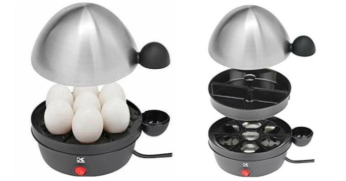 Kalorik Stainless Steel Egg Cooker Just $11.99! Down From $40!