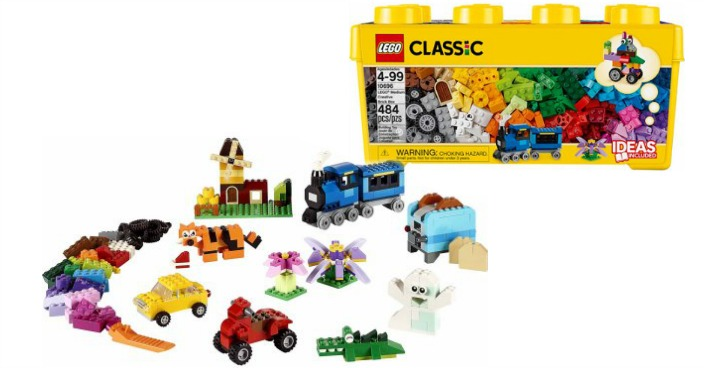 LEGO Classic Medium Creative Brick Box Just $20.99! Down From $40!