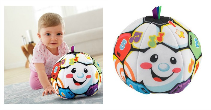 Laugh & Learn Singin' Soccer Ball Only $8.99! Down From $25!