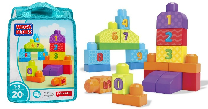 Mega Bloks 1-2-3 Count! Bag Just $6.10! Down From $19.43!