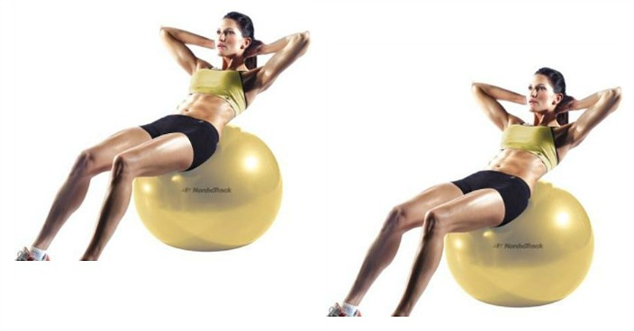 FREE NordicTrack 55 cm Exercise Ball!