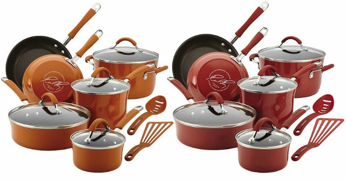 Rachael Ray Cucina 12-Piece Cookware Set Only $98.99! Down From $250!