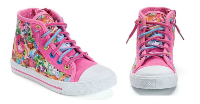 Shopkins Toddler Girls High-Top Sneakers Only $20.99! Down From $40!
