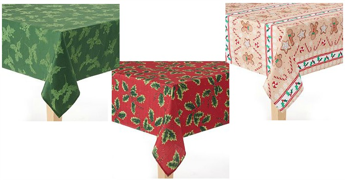 The Big One Christmas Tablecloth Only $7.28! Down From $26!