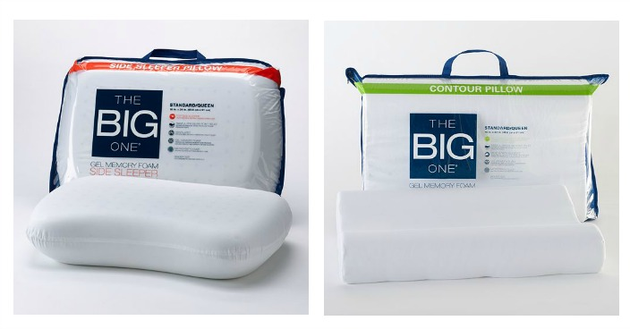 The Big One Memory Foam Pillow Only $13.99! Down From $50!