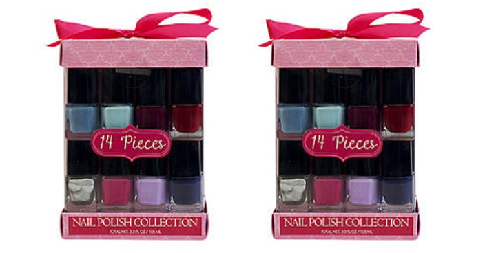 FREE Tri-Coastal 14-Piece Nail Polish Set!