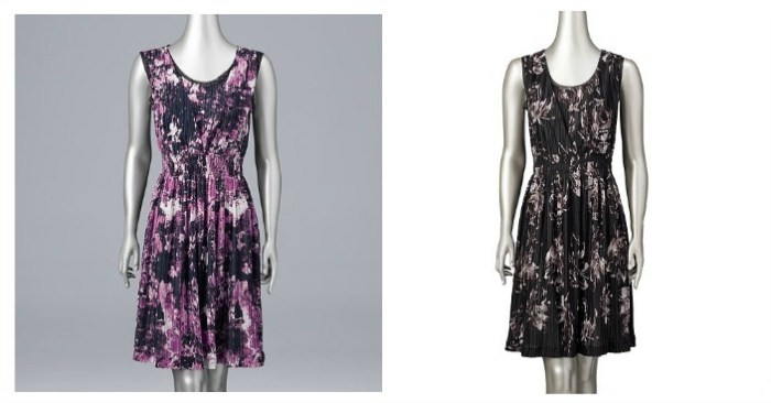 Vera Wang Smocked Empire Dress Only $4.06! Down From $58!