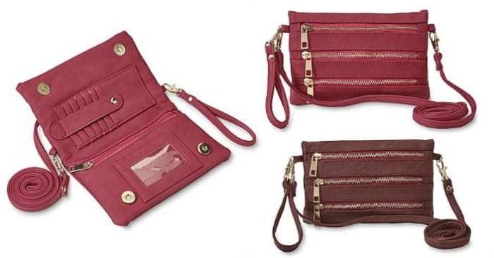 FREE Women's Frieda Crossbody Wallet Purse!