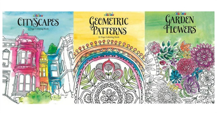 Adult Coloring Book Collection Just $9.99! Down From $30!