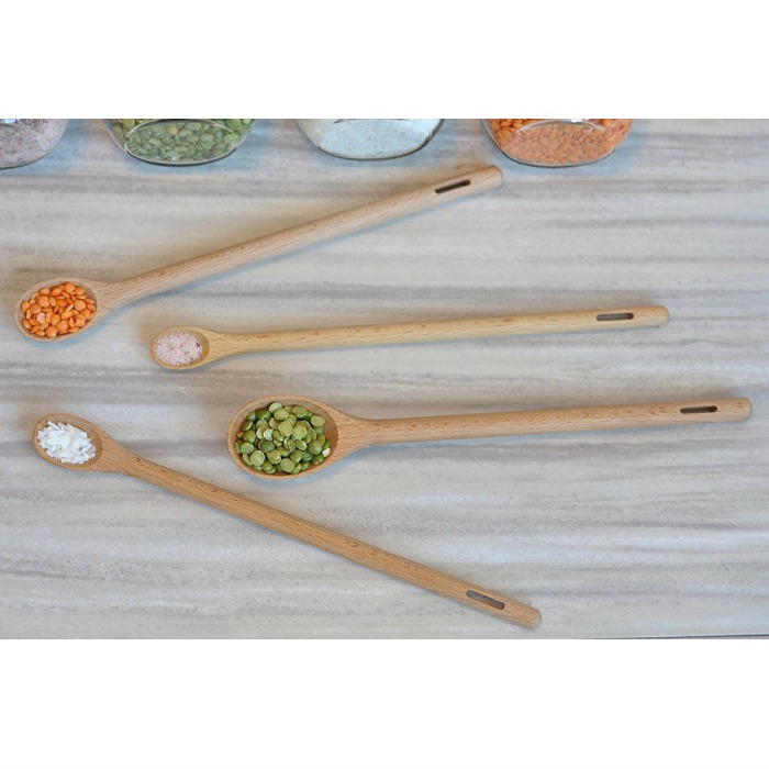 Long Handle Wooden Measuring Spoons Just $15.99! Down From $30!