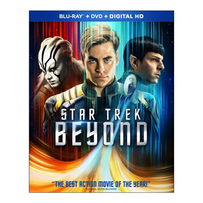 Star Trek Beyond Blu-ray + DVD + Digital Just $10! Down From $40!