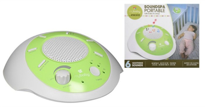 myBaby SoundSpa Portable Just $13.59! Down From $25!