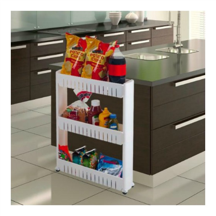 3-Tier Slide Out Pantry Just $13.99! Down From $45!
