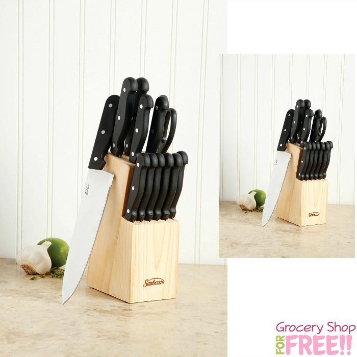 Sunbeam Westmont 13-Piece Cutlery Set Just $8.46!