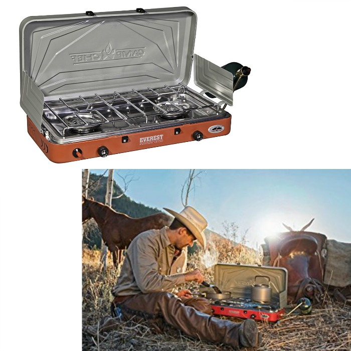 Camp Chef 2-Burner Stove Just $68! Down From $121!