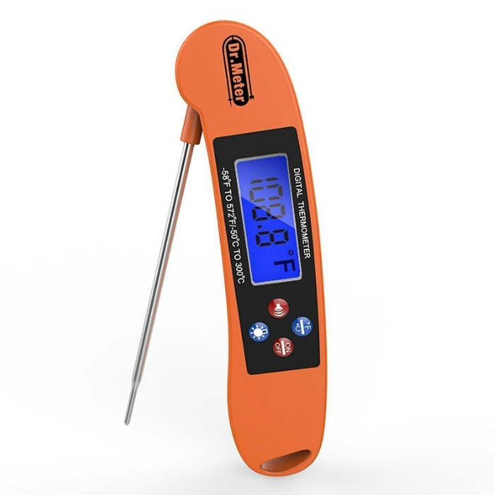 Digital Stainless Cooking Thermometer Just $9.99! Down From $26!