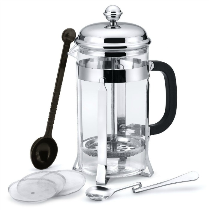 French Press Coffee Maker Just $9.99! Down From $27!