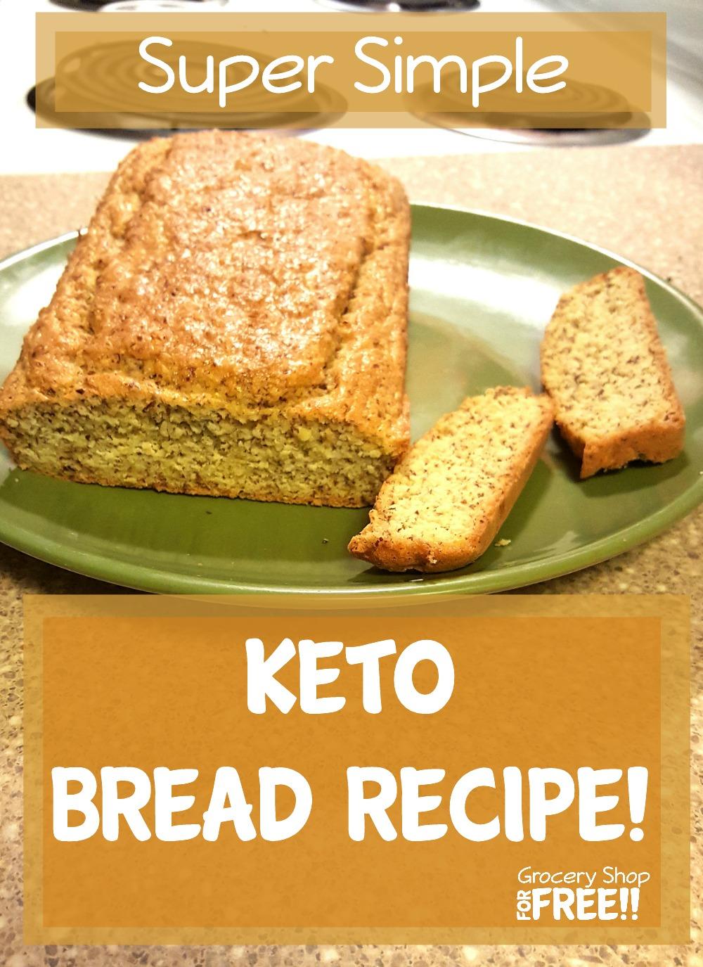 Easy Keto Bread Recipe!
