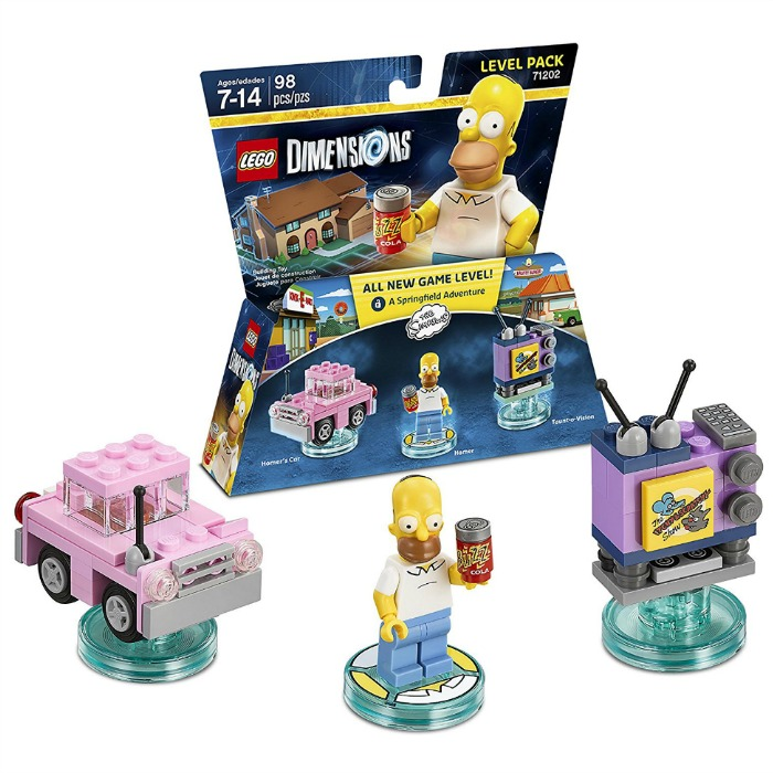 LEGO Dimensions Simpsons Level Pack Just $8.55! Down From $30!