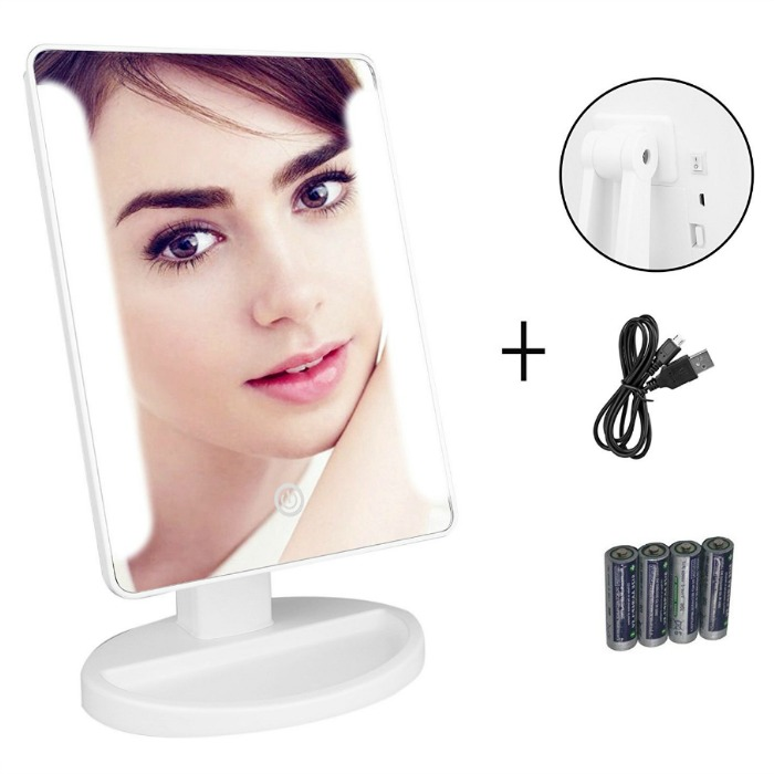 LED Light Countertop Mirror Just $13.94! Down From $40!