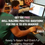 100 FREE Skill Building Practice Questions For Pre-K To 8th Graders!