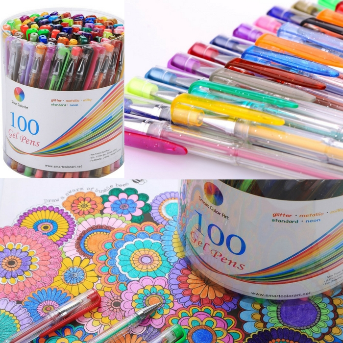 100-Pack Gel Pen Set Just $19.99! Down From $59!