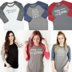 Raglan Graphic T-Shirts Just $16.95! Down From $30! PLUS FREE Shipping!