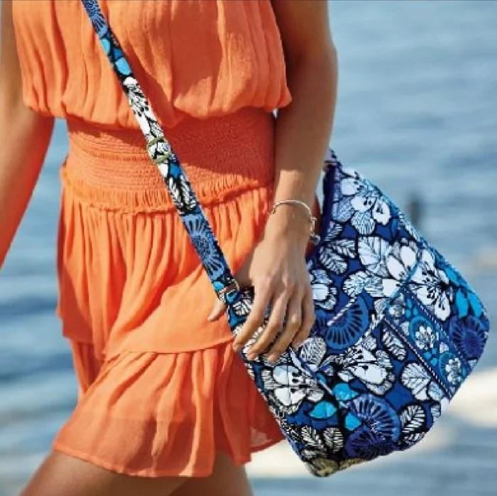 Vera Bradley Little Crossbody Bag Just $17! Down From $34! PLUS FREE Shipping!