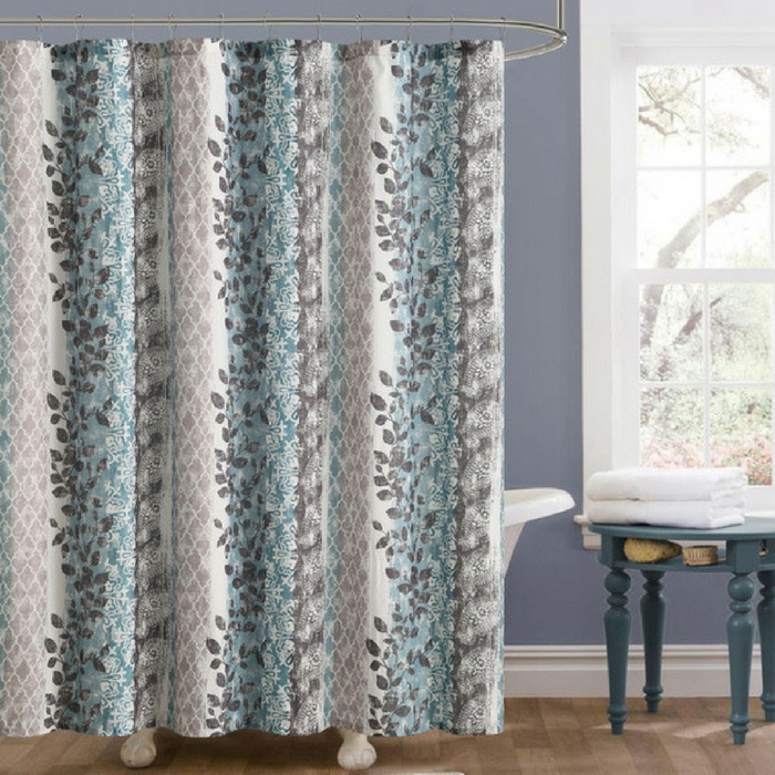 Embossed Shower Curtains Just $7.99! Down From $34.99! PLUS FREE Shipping!