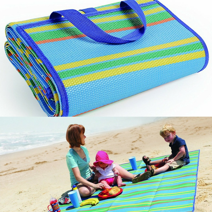 Camco Large Foldable Beach Mat With Carry Strap Just $14.77!