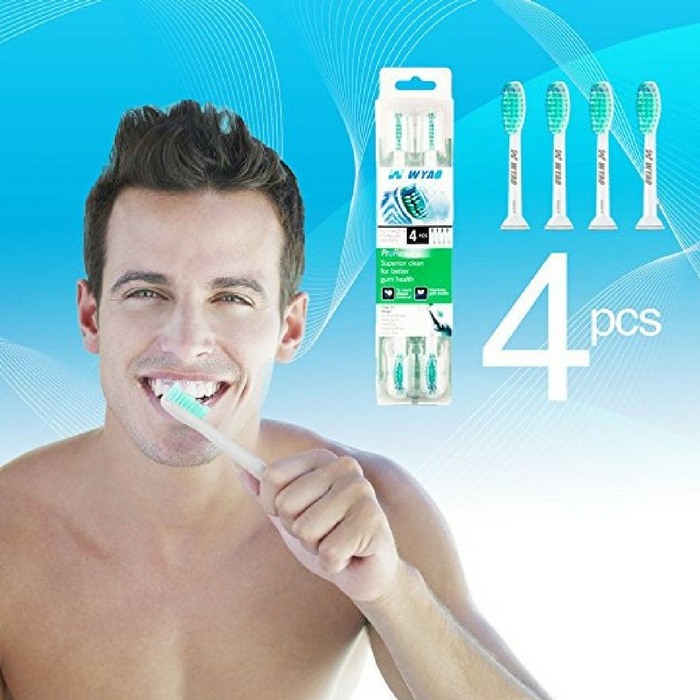 Replacement Sonicare Toothbrush Heads 4-Pack Just $10.99! Down From $20!