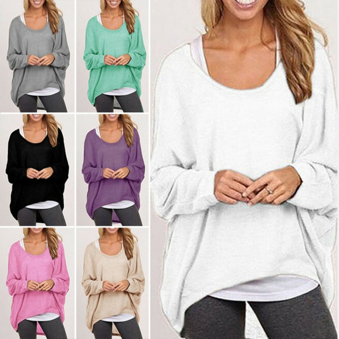 Women's Slouchy Sweatshirts Just $9.99! PLUS FREE Shipping!