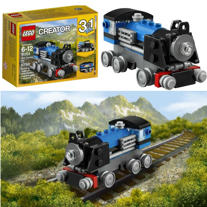 LEGO Creator Blue Express Building Kit Just $4.93! Down From $10.51!