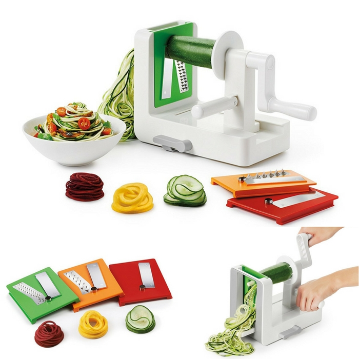 OXO 3-Blade Spiralizer With Suction Base Just $29.99! Down From $40!