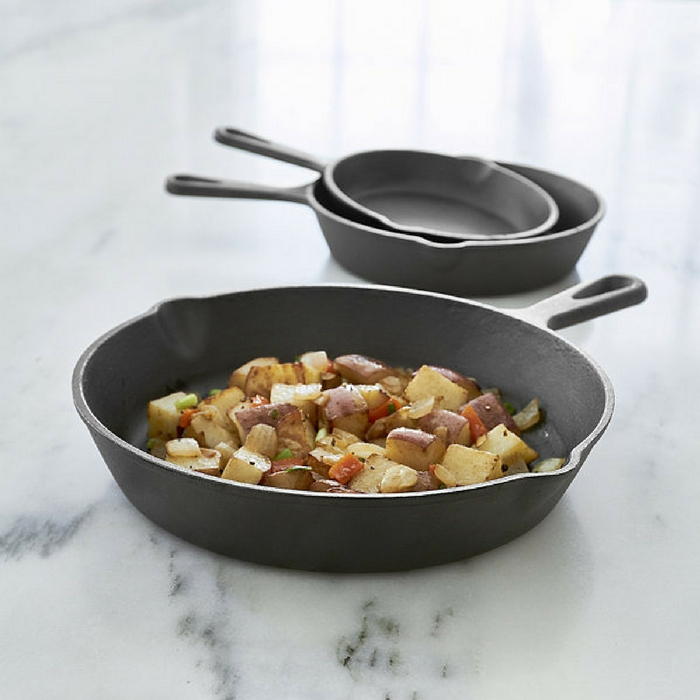 Cooks Cast Iron 3-Piece Skillet Set Just $21.24! Down From $60!