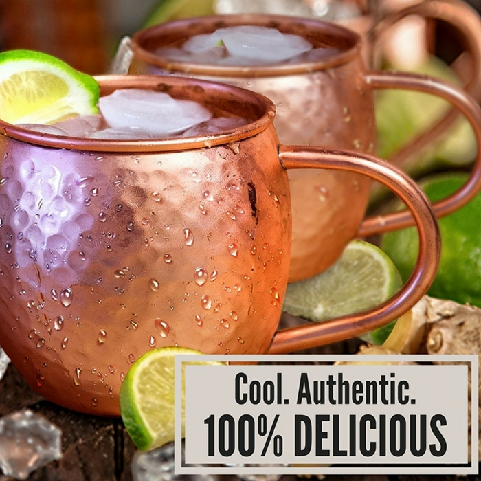 Set Of 2 Moscow Mule Mugs Just $25.99! Down From $70!