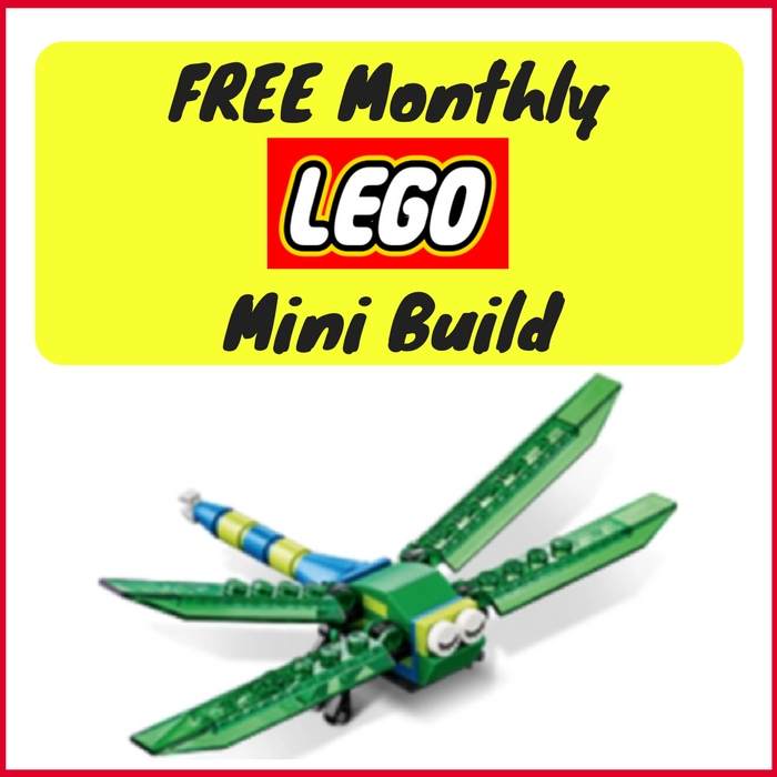 FREE Dragonfly Mini Model Build!