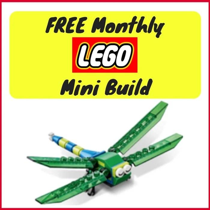 FREE Dragonfly Mini Model Build!