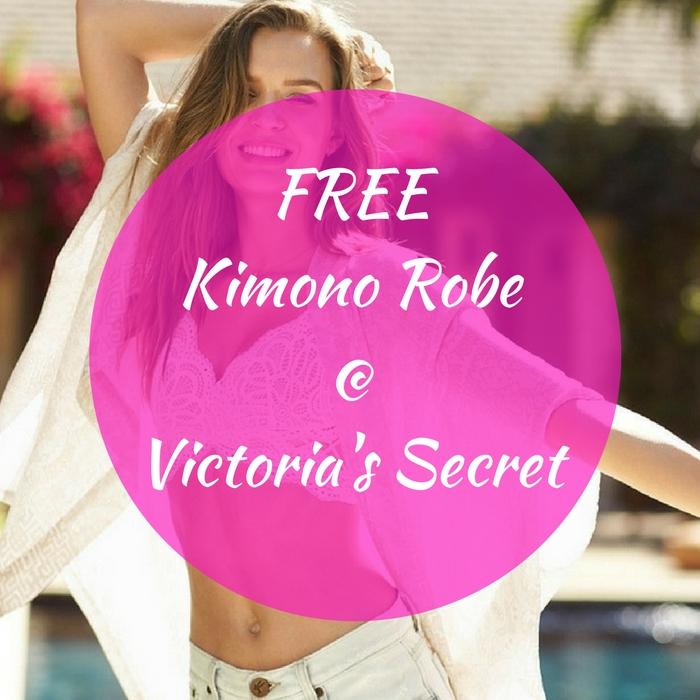 FREE Victoria's Secret Kimono Robe With Purchase!
