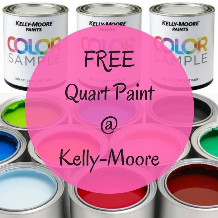 FREE Kelly-Moore Quart Paint Sample!