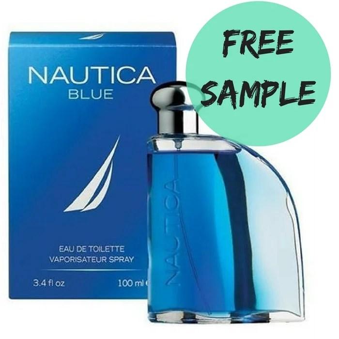 FREE Sample Nautica Blue Men's Cologne!
